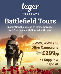 Battlefield Tours 2019 - 2020 Special Offers, Late Deals