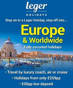 Holidays with Leger holiday